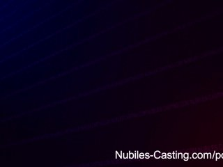Nubiles Casting – Frisky Teen Swallows Cum To Land The Job   Threesome.top Porn Tube