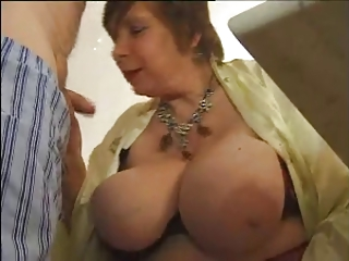 FRENCH MATURE N53 2 Brunette And Blonde Anal Mom Threesome