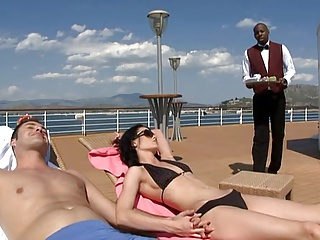 Aliz Threesome With Hubby And Black Guy | Threesome.top Porn Tube