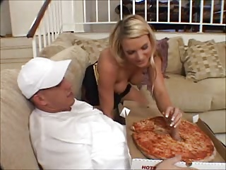 Big Sausage Pizza: Threesome With The Pizza Delivery Boy Ffm   Threesome.top Porn Tube
