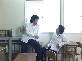 As244 – Japanese School Teacher Jousts 2 Cocks Together | Threesome.top Porn Tube