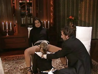 Rich Lady Her Maid And Butler Fuck | Threesome.top Porn Tube