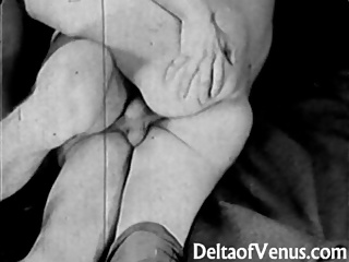 Authentic Vintage Porn 1930s – FFM Threesome