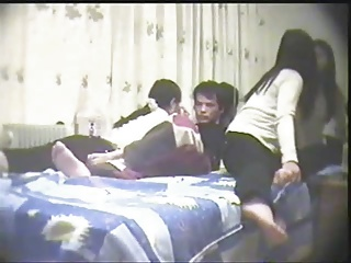 Chinese Amateur Threesome – Lucky Guy – Part -1 | Threesome.top Porn Tube
