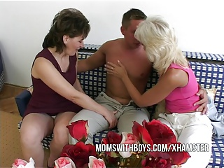 Anal Action With 2 Hot Mature And Young Stud | Threesome.top Porn Tube