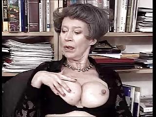 German Granny Loves Fist And Cum By TROC   Threesome.top Porn Tube