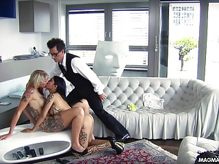 MAGMA FILM And Busty Blonde German Babe Get Fucked | Threesome.top Porn Tube