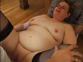 FRENCH MATURE N34 Bbw Anal Mom In Threesome 50a Salope | Threesome.top Porn Tube