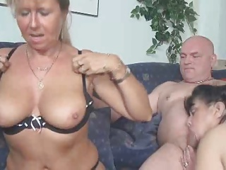 Two Women With A Man   Threesome.top Porn Tube