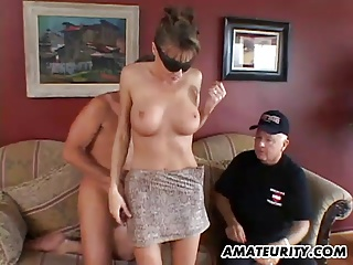 Busty Amateur Girlfriend Anal Threesome With Facial | Threesome.top Porn Tube