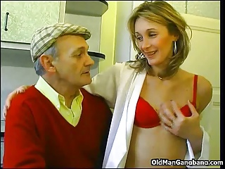 Papy Seduces Neighbor's Wife | Threesome.top Porn Tube