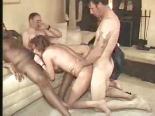Wife's Threesome At Home   Threesome.top Porn Tube