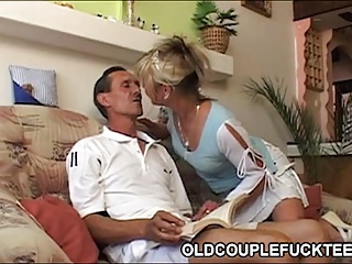 Sexy Maid Shares Old Cock | Threesome.top Porn Tube