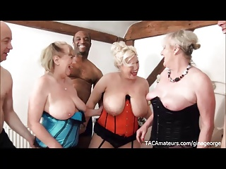 3 Busty Sluts And 3 Horny Guys