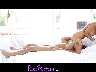 PureMature MILF Puma Swede And Younger Starlet Threesome