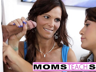 Mom And NOT Her Daughter Fuck Monster Cock | Threesome.top Porn Tube