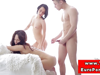 Amateur Petite Teen Assfucked In Trio   Threesome.top Porn Tube
