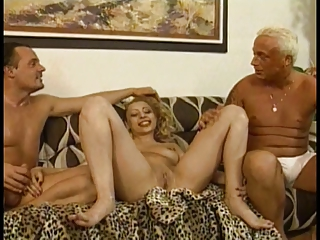 Hot Young Blonde With Nice Tits Takes A Hard Cock Inside Her Pussy | Threesome.top Porn Tube