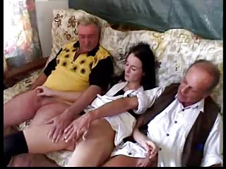 One Chick And Two Old Men | Threesome.top Porn Tube