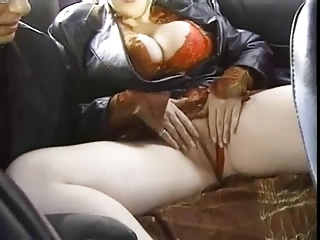 Big Titted Redhead Picked Up In Taxi And Fucked | Threesome.top Porn Tube