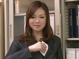 Two Guys Fuck And Creampie Aiko Hirose At The Office | Threesome.top Porn Tube