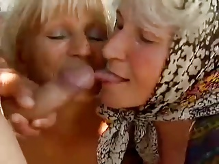 2 Farm Grannies Seduced By Young Man | Threesome.top Porn Tube