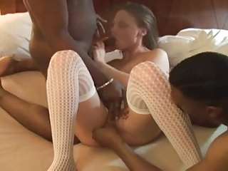 Amateur Wife Fucks Two Black Studs | Threesome.top Porn Tube