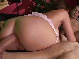 Joslyn James DP And Upside Down Cumming By ZX | Threesome.top Porn Tube