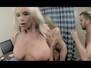 Taboo Secrets #10 (Double Pussy For NOT My Grandson) | Threesome.top Porn Tube
