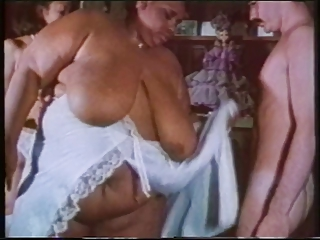 Fluffy Chick With Huge Tits Gets Fondled And Licked By Guy And A Hot Brunette