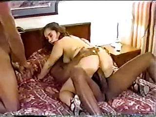 Young Brunette Enthusiastic About 2 BBCs – PF1 | Threesome.top Porn Tube