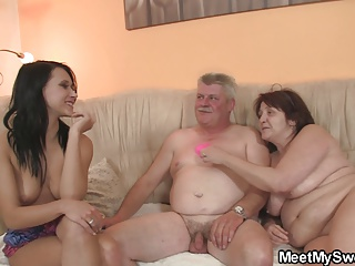 Old Couple Seduce Teen Easily | Threesome.top Porn Tube