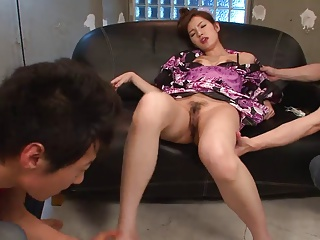 Steamy Threesome With Sexy Slut And Two Hunks | Threesome.top Porn Tube