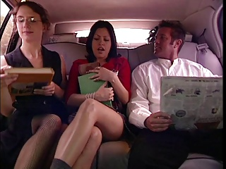 Hot Chick Banged In The Car | Threesome.top Porn Tube