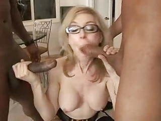 Nina Hartley With Two Black Cock | Threesome.top Porn Tube