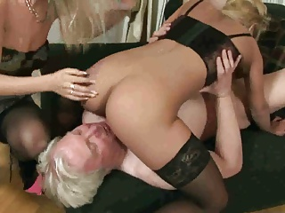 Old Man Fuck Two Blondes | Threesome.top Porn Tube