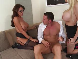Ava Koxxx & Sandra Star Naughty Threesome | Threesome.top Porn Tube